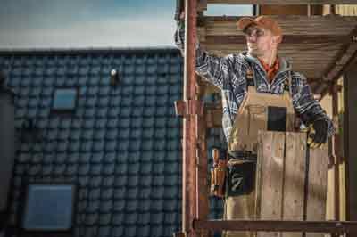 Poolse werknemers dakwerken