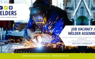 Job Vacancy / Welder Assembler